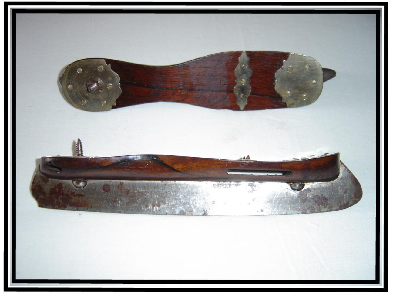 Antiqueiceskatesnorthamericamanufactured